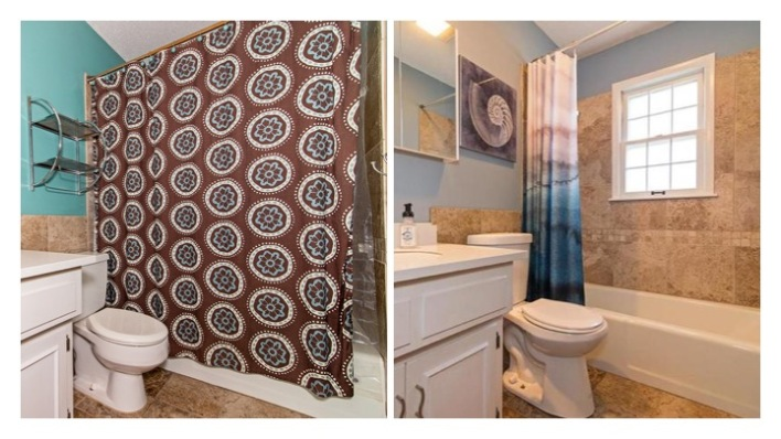 bathroom flip before and after
