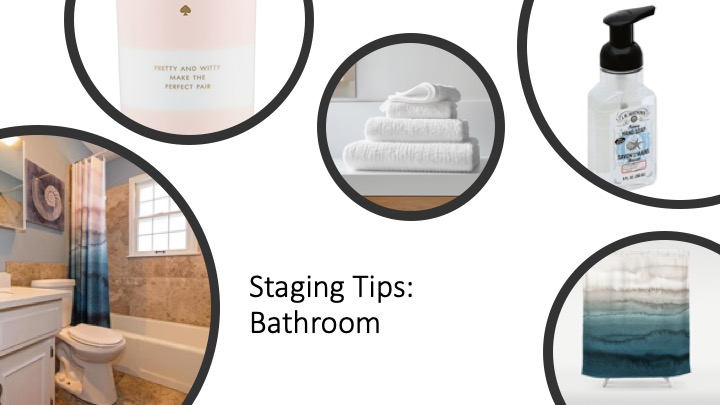 staging tips bathroom